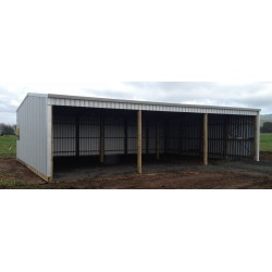 3 Bay Gable Shed