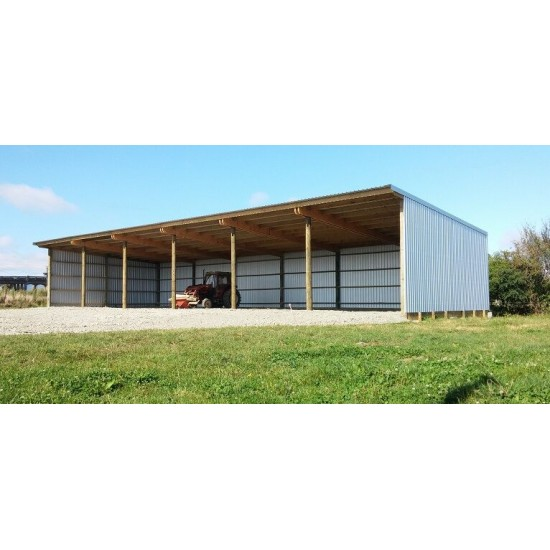 6 Bay Shed