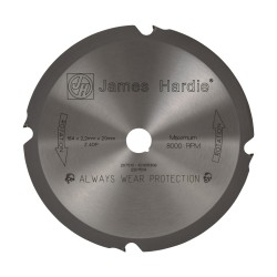 HardieBlade (Diamond Tip) Circular Saw Blade 184mm
