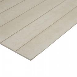 BGC Duragroove Smooth Narrow 2450x1200x9mm Fibre Cement Sheet - each