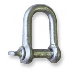 M12 'D' Shackle Galv