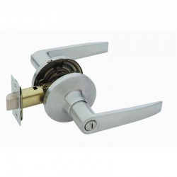 Schlage Jupiter R40 Privacy Latch - Satin Chrome