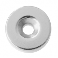 Schlage Magnetic Door Catch Round 22mm - One Pair
