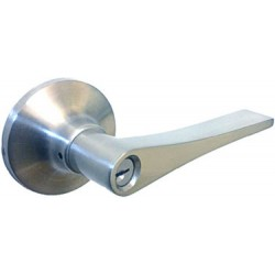 Miles Nelson Trento Entrance Latch - Satin Nickel