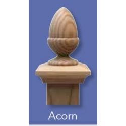 Fence Post Cap 100x100mm - Classic Acorn