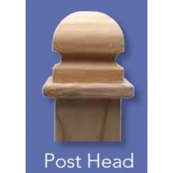 Fence Post Cap 100x100mm - Classic Post Head