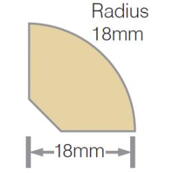 Mould No2 Quad Clear RAD UT KD 18mm - 6.0m