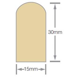 Mould No15 30x15mm Scriber H3.1 RAD FJ Pre-Primed - 5.4m
