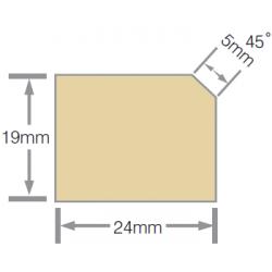 Mould 24x19mm Beazley  Pre-Primed FJ H3.1 - 5.4m