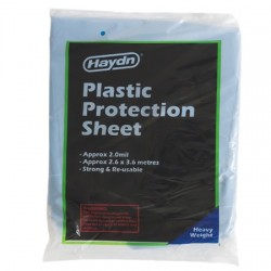 Haydn Heavy Duty Plastic Drop Cover 2.6m x 3.6m