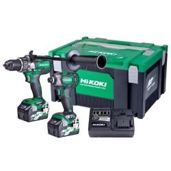 Hikoki 36V Brushless Impact Drill and Impact Driver Kit