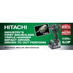 Hitachi Brushless Triple Hammer Impact Driver