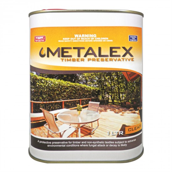 Metalex Consentrated Timber Preservative - 1L Clear