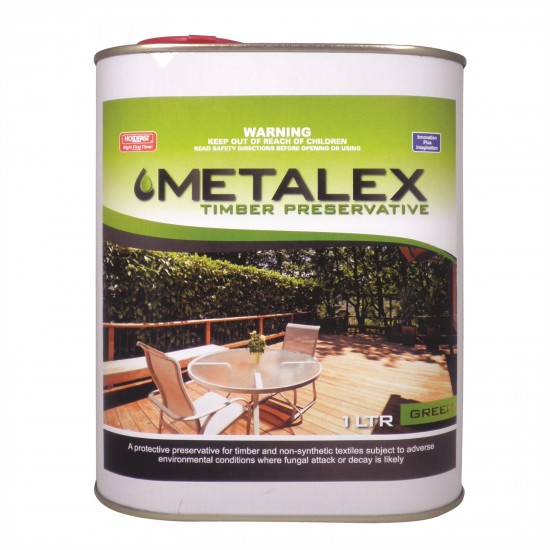 Metalex Consentrated Timber Preservative - 1L Green
