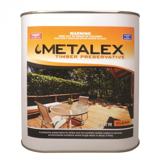 Metalex Consentrated Timber Preservative - 4L Clear