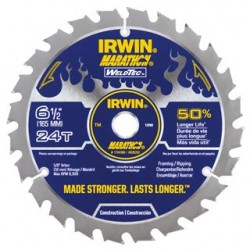 Irwin Marathon WeldTec Circular Saw Blade 160mm 20T - Ripping/Cross Cutting