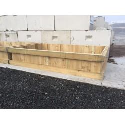 Garden Box 2.1m x 1.1 m x .6 m