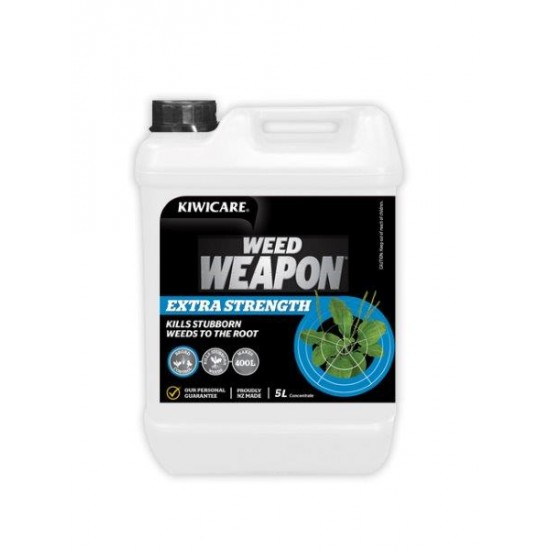 Kiwicare Weed Weapon Extra Strength - 5L Concentrate