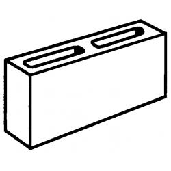 Block 10:01 10 Series Standard 90x390x190mm
