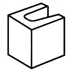 Block 15:12 15 Series Lintel and Half End