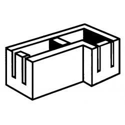 Block 15:15 15 Serie Corner Bond Beam RH