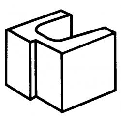 Block 15:11 15 Series Rebate Lintel Half