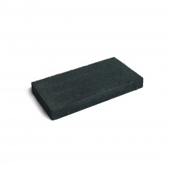 Firth Piazza Paver Black Sands 400x200x50mm 12.5/m2 - each