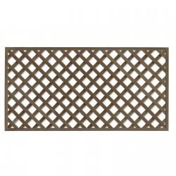 Trellis Diagonal Framed 1800w x 1200h x 50mm Square - Each