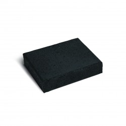 Firth Walkway Paver Black Sands 230x190x50mm 23/m2 - each