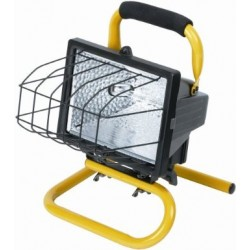 Portable Halogen Floodlight and Stand 500W