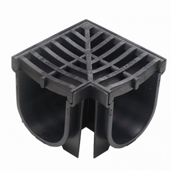 Channel and Grate Corner