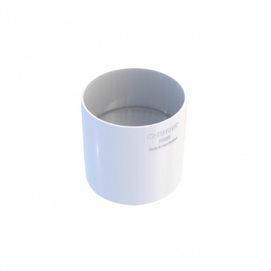 Marley Downpipe Jointing Socket 80mm