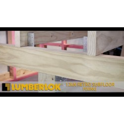 Lumberlok 12KN Retro Subfloor Fixing Hop Dip Galvanised - 4 Piles