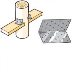 Lumberlok Girt Plate Stainless Steel