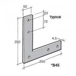 Bowmac B45 L Strap - Galvanised