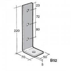 Bowmac B52 Angle Bracket - Galvanised