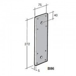 Bowmac B86 Strap Galvanised