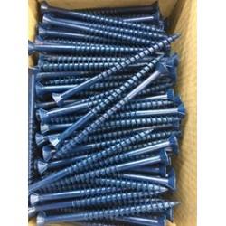 Lumberlok 'Blue Screw' 10g 80mm 250 Box