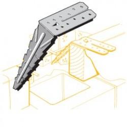Lumberlok Bottom Plate Anchor (BPA) Galvanised
