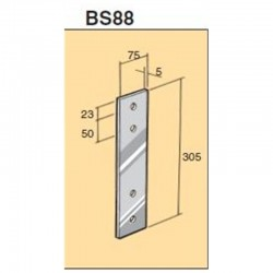 Bowmac BS88 Strap Stainless Steel