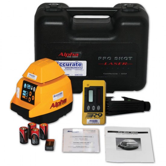 Pro Shot Alpha/R9 Laser Package