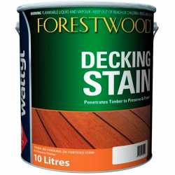 Wattyl Forestwood Decking Stain 10L - Blackbean