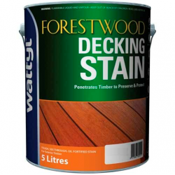 Wattyl Forestwood Decking Stain 5L - Blackbean