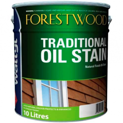 Wattyl Forestwood Traditional Oil Stain 10L - Blackbean