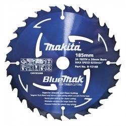Makita Bluemak TCT Blade 185mm 24T