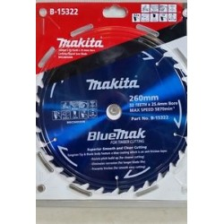 Makita Bluemak Blade 260mm 50T