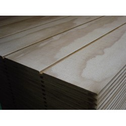 Plyclad Structural Natural Grooved H3.2 CD 2440x1200x12mm