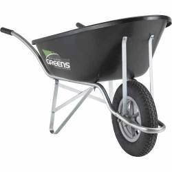 Greens Eco Wheelbarrow (Black)