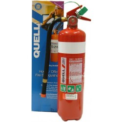 Quell Home/Office Fire Extinguisher 2.3kg Dry Powder