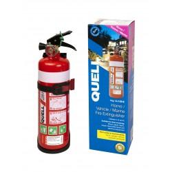 Quell Home/Vehicle/Marine Fire Extinguisher 1kg Dry Powder